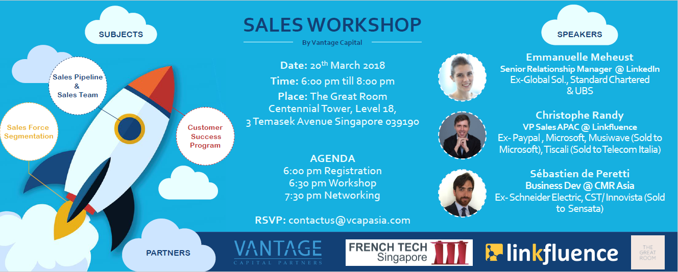 Sales Workshop March 2018